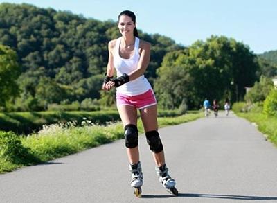 Benefícios de andar de skate em rollers