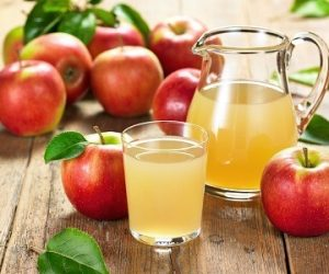 Benefícios do suco de maçã natural