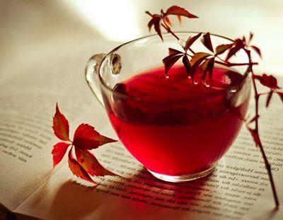 Para que serve o chá vermelho?