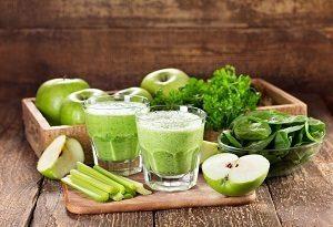 Suco verde para desintoxicar